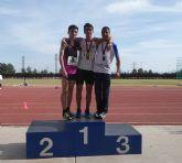 Nueve metales para el Club Atletismo Alhama en el 'Campeonato Sub16 de la Regi�n de Murcia'