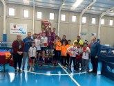 El Colegio La Milagrosa consigue el primer puesto en la Final Regional de Tenis de Mesa de Deporte Escolar, celebrada en Mazarr�n