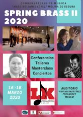 El Conservatorio Profesional de Música Maestro Jaime López de Molina de Segura organiza la II Semana del Metal del 16 al 18 de marzo