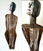 Silvanele presenta dos proyectos escultóricos en el Museo de Belenes del Mundo de Ojós