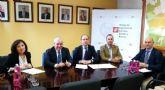 El ayuntamiento de Mazarr�n y el colegio de ingenieros de caminos de Murcia firman un convenio para mejorar la asistencia profesional del consistorio en materia de infraestructuras