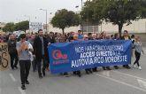 ASECOM solicita al PSRM su ayuda para cambiar la salida a Alguazas del Arco Noroeste