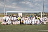 La escuela deportiva de la Fundación Real Madrid en Mazarrón triplica el número de alumnos desde su creación