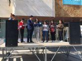 Los niños y jóvenes defienden los hábitos saludables en la Feria de la Salud con la que concluye la I Semana Saludable de San Javier