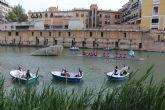 San Pedro del Pinatar entrega la sardina a Murcia desde el río