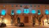 La fachada principal del Ayuntamiento se iluminar� mañana por la noche de color azul turquesa como respaldo al D�a Mundial de las Lipodistrofias