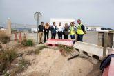 Fomento inicia las obras en la carretera que comunica Mazarrón con la pedanía de La Pinilla, en Fuente Álamo