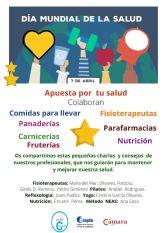 La Concejalía de Comercio de Ayuntamiento de Puerto Lumbreras conmemora el Día Internacional de la Salud con la campaña 'apuesta por tu salud'
