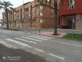 Se ejecuta un nuevo vado accesible en la Avenida de Lorca