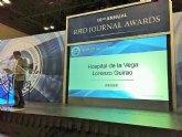 El hospital de Cieza obtiene un premio internacional por su sistema de localización de pacientes