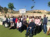 Se da el nombre de Gin�s S�nchez C�novas El Palomo a las nuevas zonas verdes y parque infantil construido en el barrio de San Jos�, dando cumplimiento acuerdo plenario
