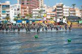 220 nadadores participan en la III traves�a a nado de la Isla Fun Fest