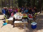 Naturaleza, deporte y solidaridad se unieron en la I Marcha Solidaria
