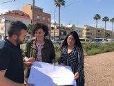 El PP de Puerto Lumbreras propone crear una zona de aparcamiento en la avenida Región Murciana