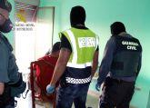 La Guardia Civil desmantela en Águilas un punto de venta de sustancias estupefacientes