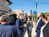 La Comunidad avanza en las obras de mejora en dos caminos rurales de Beniel