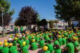 Más de cien niños de Beniel apadrinan un árbol por el Día Mundial Del Medio Ambiente