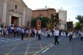 Los niños y niñas que han tomado la primera comunión este año, protagonistas de la procesión del Corpus