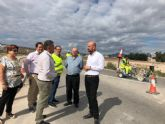 Refuerzan las marcas viales en carreteras de �guilas, Aledo, Lorca y Totana