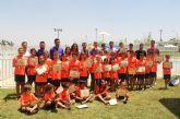 Clausura y entrega de diplomas en el II Campus de Fútbol 'Villa de Puerto Lumbreras'