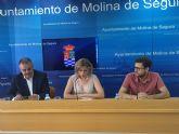 El Ayuntamiento de Molina de Segura firma una adenda al convenio de afiliación a la Red CTnet para la retransmisión por internet de los plenos municipales