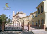 La Guardia Civil detiene a un peligroso delincuente por el asalto a la ermita del Santo Cristo del Consuelo de Cieza
