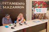 'De tu plaza a tu mesa' busca incentivar las compras en la plaza de abastos de Puerto de Mazarrón