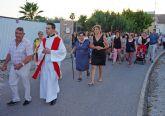 Las fiestas del barrio torreño de San Pedro concluyen con la procesión del patrón