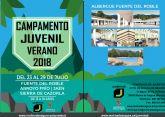 La Concejalía de Juventud de Molina de Segura ofrece 30 plazas para el Campamento Juvenil Verano 2018
