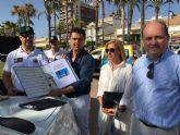 Un total de 60 profesionales trabajan en salvamento y vigilancia de playas en el municipio de San Javier