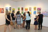 Los alumnos del taller municipal de dibujo y pintura muestran sus obras