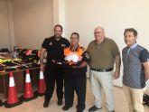 Protección Civil hace entrega al Alcalde del Resumen Anual de Actividades y Servicios 2017