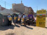La campaña para evitar el depósito incontrolado de enseres en la vía pública llega a las pedanías
