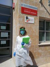 Las trabajadoras sociales de San Pedro del Pinatar reanudan las visitas de valoración y seguimiento en domicilios