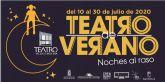 Un total de cinco representaciones conforman el programa de Teatro de Verano NOCHES AL RASO de Molina de Segura