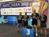 Un oro y dos bronces hist�ricos para el FRAMUSA Totana TM en los Campeonatos de Espa�a de Veteranos