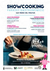 'Paraíso gastronómico San Pedro del Pinatar' Showcooking con sabores muy nuestros