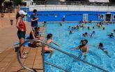 Los cursos de verano de natación vuelven a superar todas las previsiones