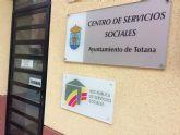 Un total de 54 vecinos de Totana son derivados al programa de Formación e Inclusión Social durante el primer semestre de este año