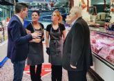 Profesionales de los mercados y plazas de abastos de Murcia recibirán formación sobre calidad sanitaria y nutricional de los alimentos
