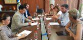 El consejero Antonio Luengo, mantiene un encuentro de trabajo en San Pedro del Pinatar, con los alcaldes del Mar Menor