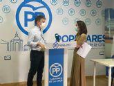 El PP destaca que los acuerdos con el Ministerio de Hacienda y la Agencia Tributaria de la Región de Murcia permitirán sanear progresivamente las cuentas del Ayuntamiento de Caravaca