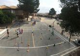 Educación vial en la escuela de verano de Moratalla