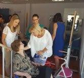 La Comunidad estudia concertar plazas para personas mayores en el municipio de Santomera