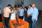 Las asociaciones benéficas reciben la carne de las sueltas de vaquillas de las Fiestas Patronales