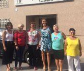La directora general de Relaciones Laborales y Economía Social visita las instalaciones de Ayuda a domicilio de Molina de Segura