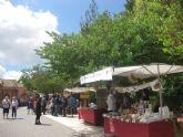 El día 1 de octubre se retoma la temporada del tradicional Mercadillo Artesano de La Santa
