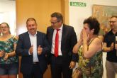 Diego Conesa anuncia una modificaci�n del trazado del Corredor Mediterr�neo en Totana para minimizar el impacto sobre los vecinos