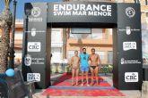 Los nadadores Emilio López y Vicki Connolly se hacen con el pódium de Los Alcázares en la Full Distance