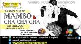 MAMBO y CHA-CHA-CHA, nuevo curso en la Escuela de Danza Manoli Cánovas